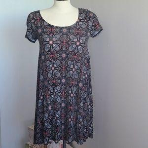 Paisley trapeze dress
